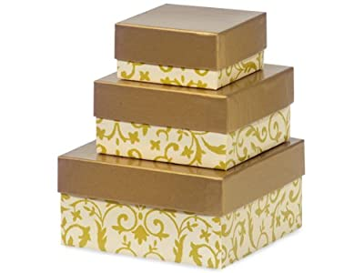 Nashville Wraps Nested Gift Boxes 3 Piece Set