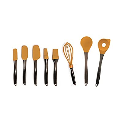 BergHOFF Geminis Orange 8-Piece Silicone Utensil Set