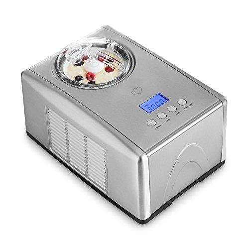 Edelstahl Eismaschine mit Kompressor Emma