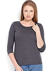ESPRESSO WOMEN'S TOP (Grey_ X- Large)