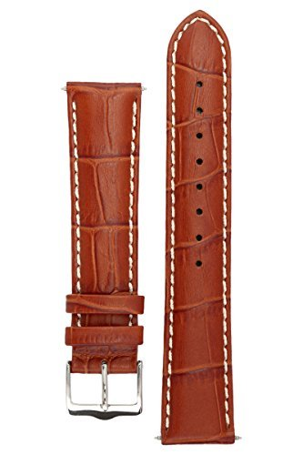 signature-montana-in-oak-22-mm-watch-band-replacement-watch-strap-genuine-leather-silver-buckle
