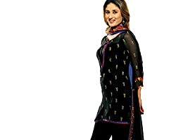 HSFS FESTIVE EMBROIDERED DRESS MATERIAL