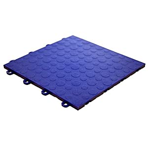 Modutile Garage Floor Tiles 30 Pack Coin Blue