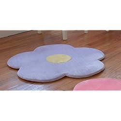 Purple Flower Area Rug for Kids Girls Room Girls Rugs Girls Room & Baby Nursery Floor Rugs Kids Room Decorative 25 Purple Flower Rug Mat