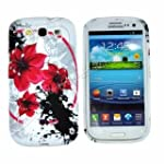 Red Flower TPU Gel Case Cover for Sam...