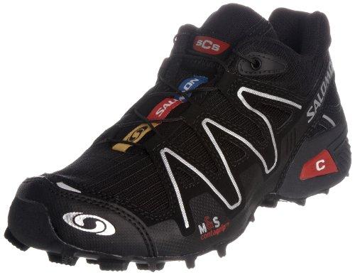 Salomon – Speedcross 2 (Damen) – Schuhe – Black/Asphalt/Silver Metallic (6 UK)