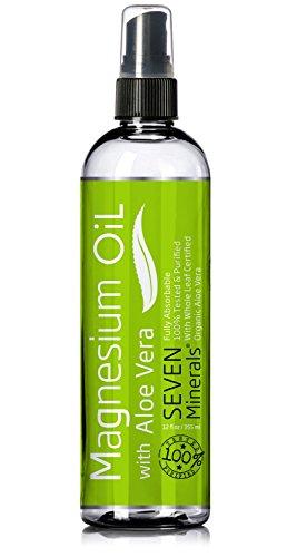 Magnésium huile avec ALOE VERA (rend moins