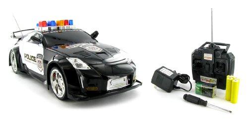 1:14 Nissan 350Z Police Remote Control Rc Car