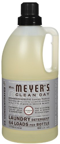 Mrs. Meyer's Clean Day Laundry Detergent-Lavender - 64 Loads