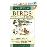 Guide to Birds of Britain and Europe (0600314111) by Bruun, Bertel