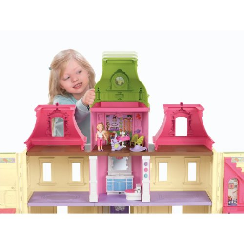 Toy / Game Fisher-Price Loving Family Dream Dollhouse With Caucasian Family - Can Play Fun Songs & Lullabies