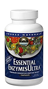 Source Naturals Essential Enzymes Ultra, 60 Capsules