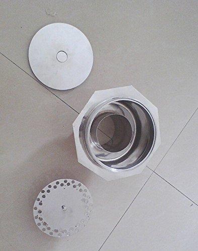 BLYC- Edelstahl sauber und geruchsabweisend, warmen Metall undicht