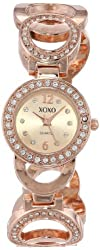 XOXO Women's XO5669 Analog Display Quartz Rose Gold Watch