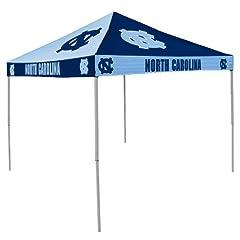 NCAA North Carolina Tar Heels 9-Foot x 9-Foot Pinwheel Tailgating Canopy, Dark Blue... by Logo Chair Inc.