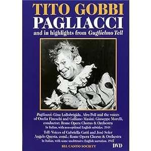Tito Gobbi in Pagliacci & Hlts From Guglielmo Tell [DVD] [2006] [Region 1] [US Import] [NTSC]