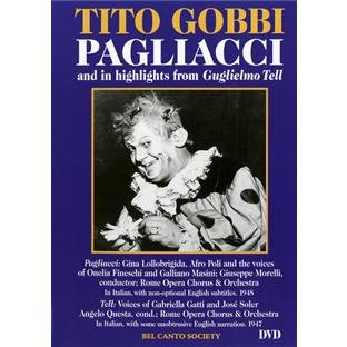 Tito Gobbi in Pagliacci & Hlts From Guglielmo Tell [DVD] [2006] [Region 1] [US Import] [NTSC]