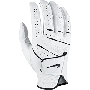 Nike Men's Tour Classic Regular White Golf Glove, Right Hand, Medium