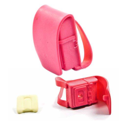 Iwako Puzzle Radiergummi zum Sammeln Schulrucksack Schulranzen rot