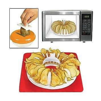 Homemade Potato Chip Maker Microwave Or Oven Bake