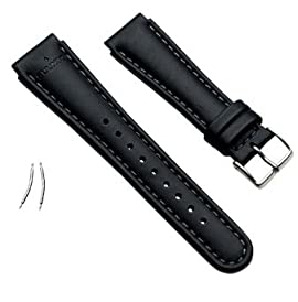 Suunto X-Lander/S-Lander Black Leather Strap Kit