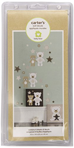 Carter's Wall Decals, Baby Bear (Discontinued by Manufacturer)