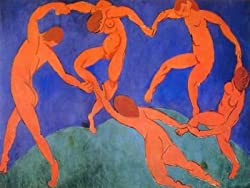 12X16 inch Henri Matisse Vintage Abstract Canvas Art Repro Dance