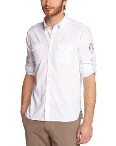 Best Mountain Camicia Uomo [Bianco]