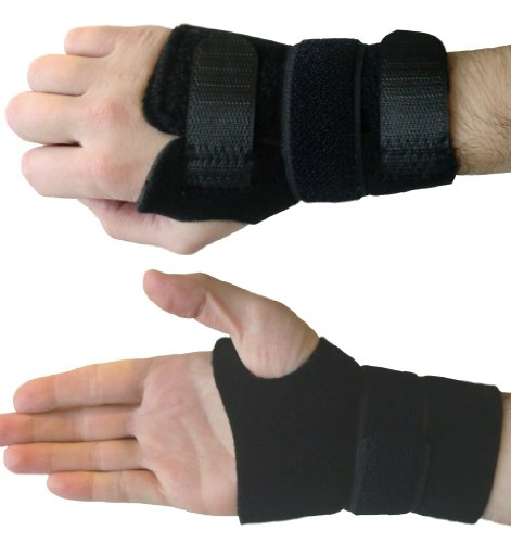 Actesso Wrist Guard Support Brace for sports, repetitive strain, arthritis and Carpal Tunnel