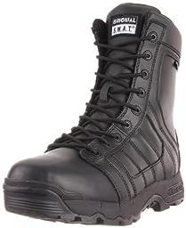 Original S.W.A.T. Men\'s Metro Air 9 Inch Waterproof Side-Zip Tactical Boot, Black, 9.5 D US