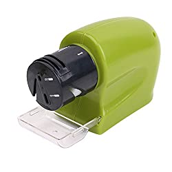 Swifty Sharp, Knife Siccors Kitchen Tool Sharpener, Auto Cordless Knife Sharpener + Free gift(any one) as seen in image