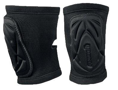 Reusch Protezioni Knee Protector Deluxe, Unisex, Protektoren Knee Protector Deluxe, nero, L