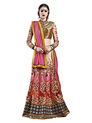 Touch Trends Multi Embroidered Lehenga Choli