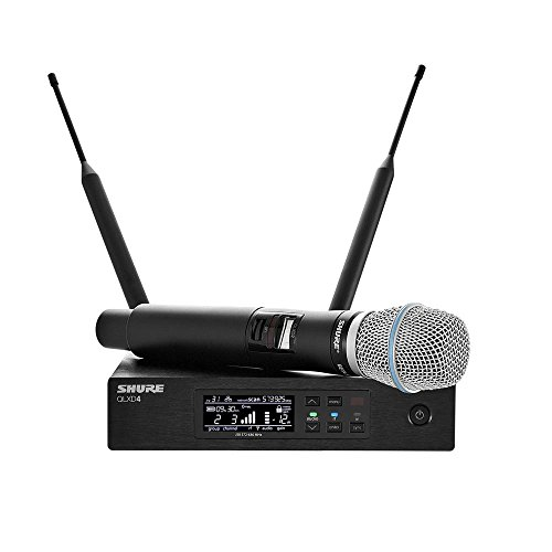 Shure Qlx-D Digital Wireless System With Beta 87A Condenser Microphone L50 Band, 632-696 Mhz front-552369