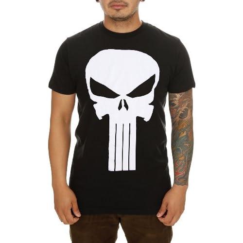 Amazon.com: Marvel Punisher Logo T-Shirt 3XL