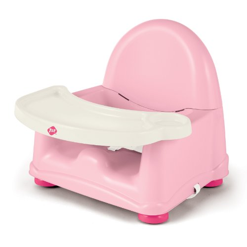 Safety 1st Easy Care Swing Tray Booster Seat, Pink - 1