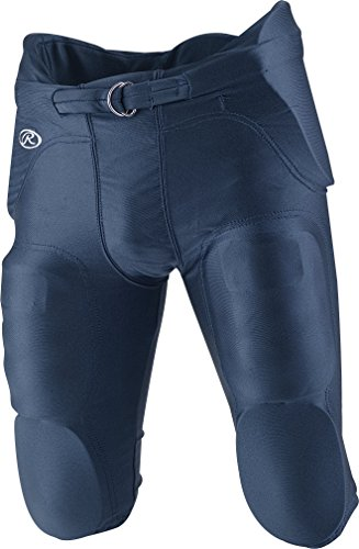 Rawlings F4500P Adult Integrated Football Pants (Navy, XX-Large) (American Football Pants compare prices)