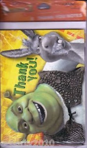 Shrek 2 Thank You Notes w/ Envelopes (8ct)