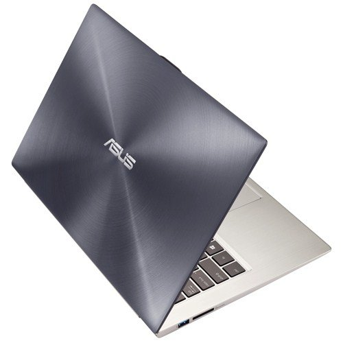Asus UX32LA-R3048H 33,8 cm (13,3 Zoll) Notebook (Intel Core i7 4500U, 1,8GHz, 8GB RAM, 128GB SSD, Intel HD, Win 8) silber/grau