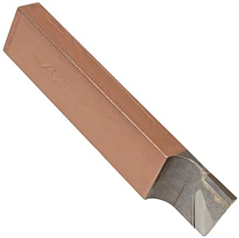 American Carbide Tool Carbide-Tipped Tool Bit for Cutoff, Neutral, 370 Grade, CT Style