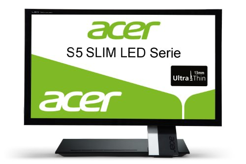 Acer S235HLbii 23 inch Widescreen LCD TFT Monitor - Black (VGA, HDMI, 1920 x 1080, 100000000:1, 2ms, 250cd/m2)
