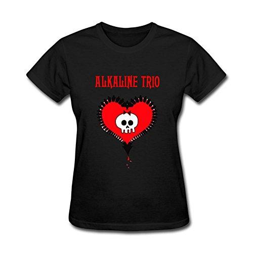 UKCBD -  T-shirt - Donna nero Medium