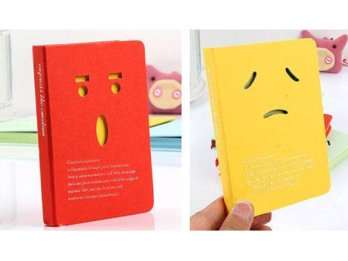 41qwMoZ79GL. SL500  1x Students Cartoon Diary Blank Book Paper Journal Notebook Travel Planner