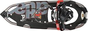 """Atlas Snowshoes Atlas Pinnacle IIC Series Mens Snow Shoes - 30"""" (76 cm), Black (Black/Siver)"""