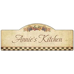 Http Amazon Com My Kitchen Personalized Wall Decor Dp B00jx0z2re