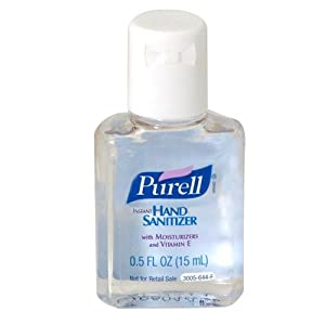 PURELL Instant hand Sanitizer .05oz. Bulk Case - 500 each