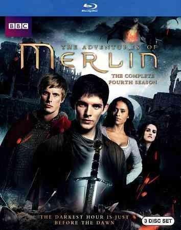 Merlin-Complete 4Th Season (Blu-Ray/3 Disc/Ws/Eng-Sdh Sub)
