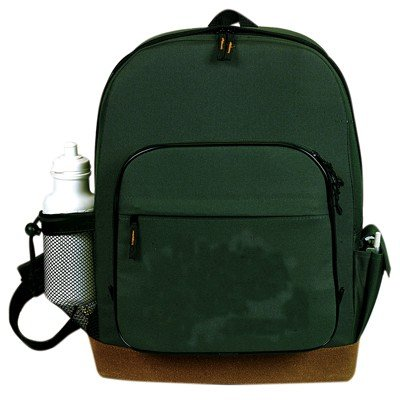 Fantasybag Suede Bottom Backpack w/ B&P Holder-Hunter Green