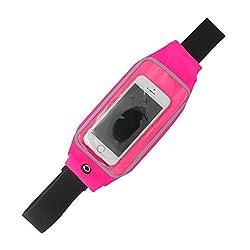 XINMADE Universal Sports Waist Belt, Running Belt, Waist Pack for Apple iPhone, Samsung Galaxy and other Smartphones, Sweatproof Reflective Transparent Touch Screen Window
