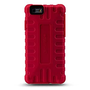 """iPhone 6 (4.7"""") Case, MarBlue ToughTek for iPhone 6 4.7"""" w/Anti Shock Screen Protector - Red"""